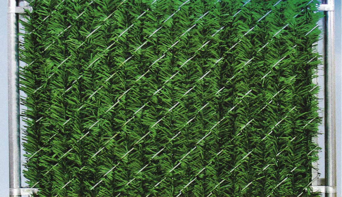 Evergreen Privacy Slats for Chain Link Fence