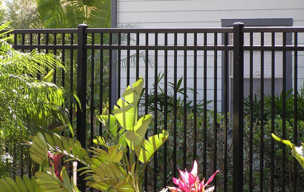 decorative aluminum fencing.  EFF 20 Elite aluminum fence by flowers and ferns Ornamental Aluminum Fence Discount Supply