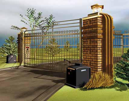 Swr Series Linear Swing Gate Operators Discount Fence