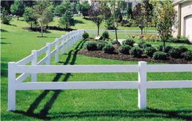 Post & rail maintenance free vinyl horse fencing discount fence supply