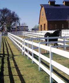 Vinyl Fencing For Horses vinyl fencebufftech - the largest supplier of vinyl fencing