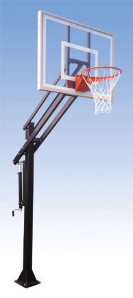 basketball backboard system