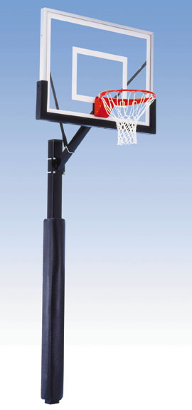 Stationary Basketball Backboard Systems
