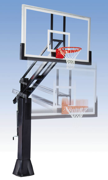 Titan Adjustable Basketball System