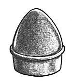 Acorn Post Cap