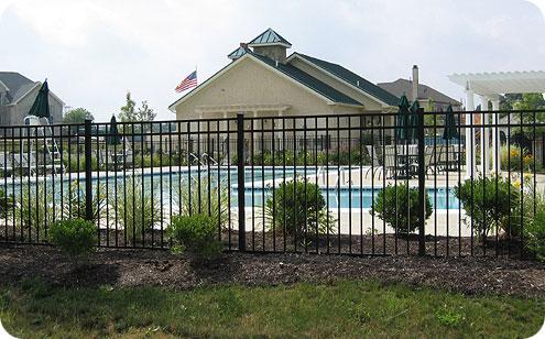 Delgard Ornamental Aluminum Fence Maintenance Free Index