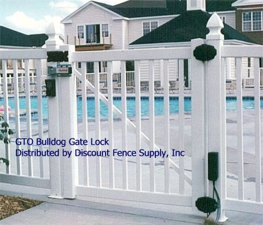 Gto Bulldog Gate Lock Swimming Pool Safety Gate Lock