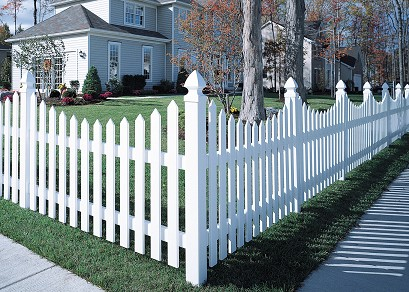 Vinyl Fence Cape Cod Concave Vinyl Fence Lowest Price Available