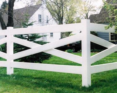 Post Amp Rail Maintenance Free Vinyl Horse Fencing Fence It