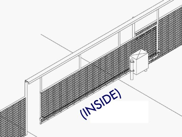 Automatic slide gate opener selector chart