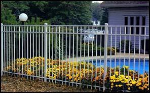 Aluminum Fence Style 202