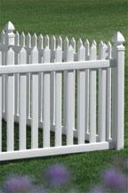 bufftech danbury vinyl fence