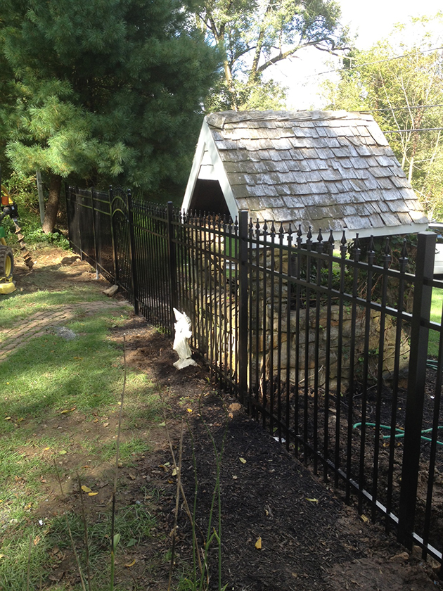 Style 111 Ep 3 Jerith Aluminum Fence Discount Fence