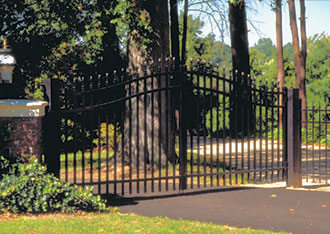 Jerith Aluminum Estate Gates Discount Fence Supply Inc