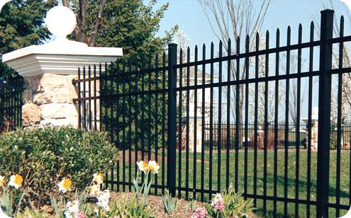 Aero Avalon Aluminum Fence