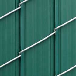 Privacylink Chain Link Fence With Privacy Slats
