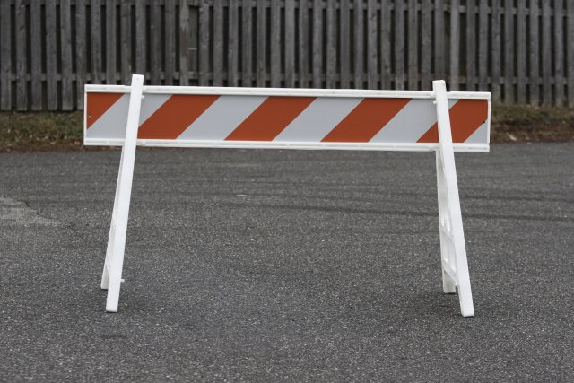 A-Frame Barriers - Traffic Safety Systems- by Discount Fence Supply ...