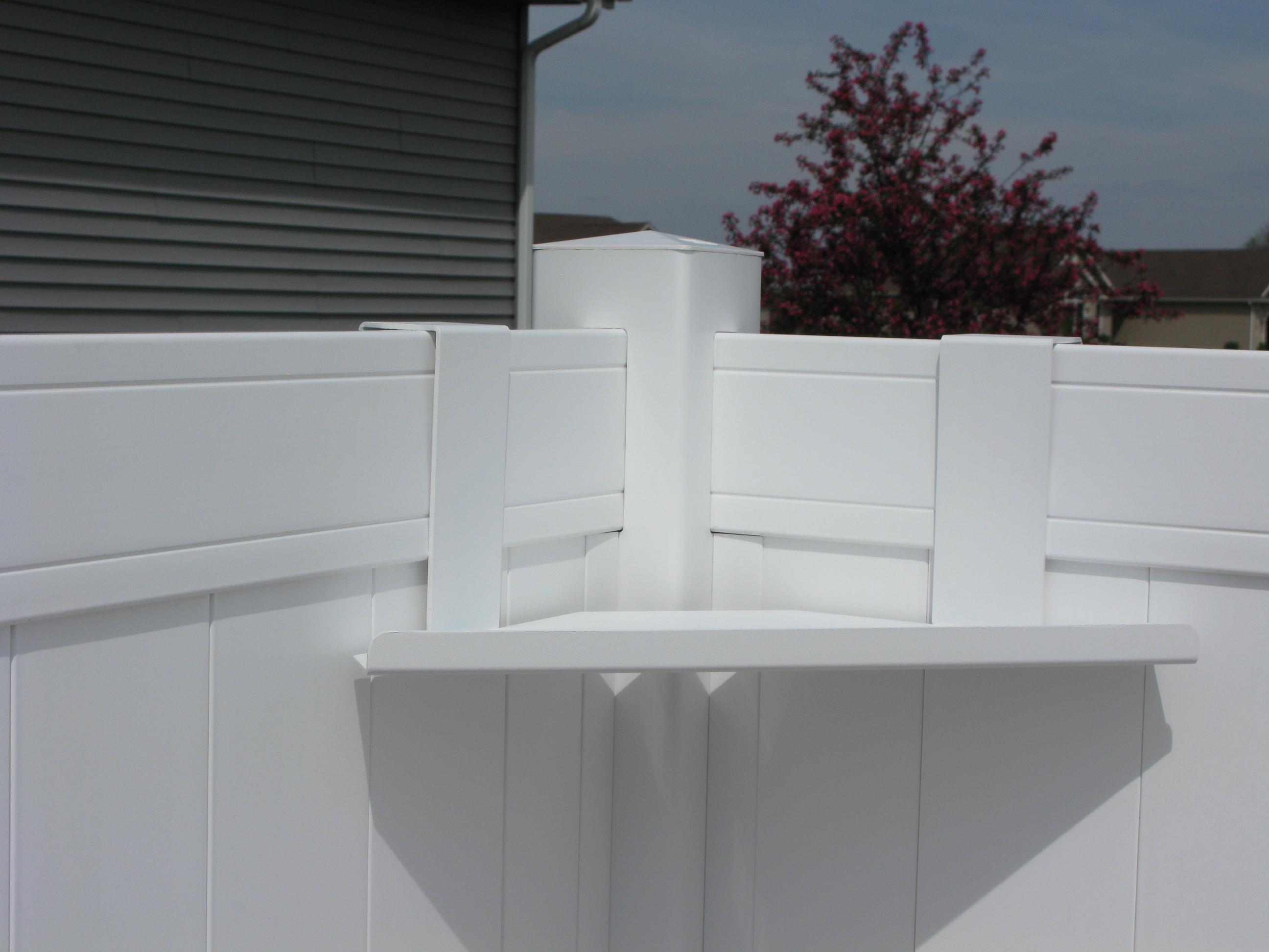 Corner fence shelves baanklon Images