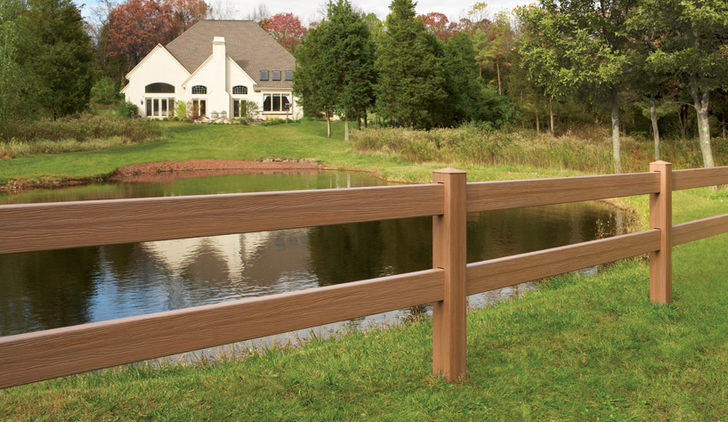 Post Amp Rail Maintenance Free Vinyl Horse Fencing Discount
