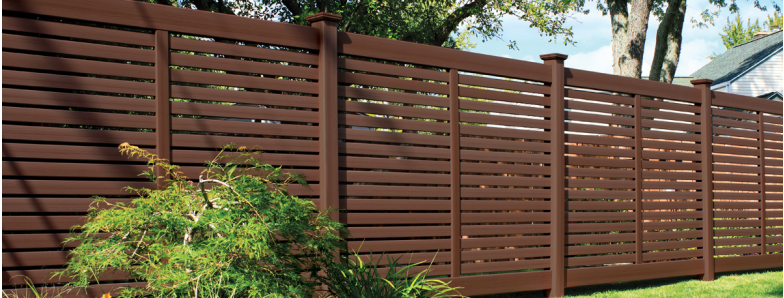 Bufftech Breezewood Select Cedar Vinyl Fence Discount
