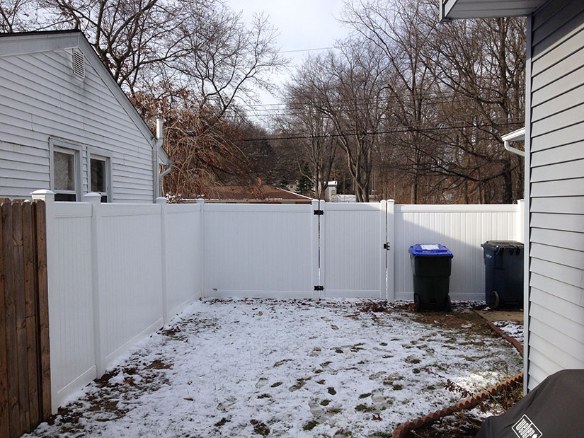 New Lexington Vinyl Fence By Bufftech Discount Fence Supply