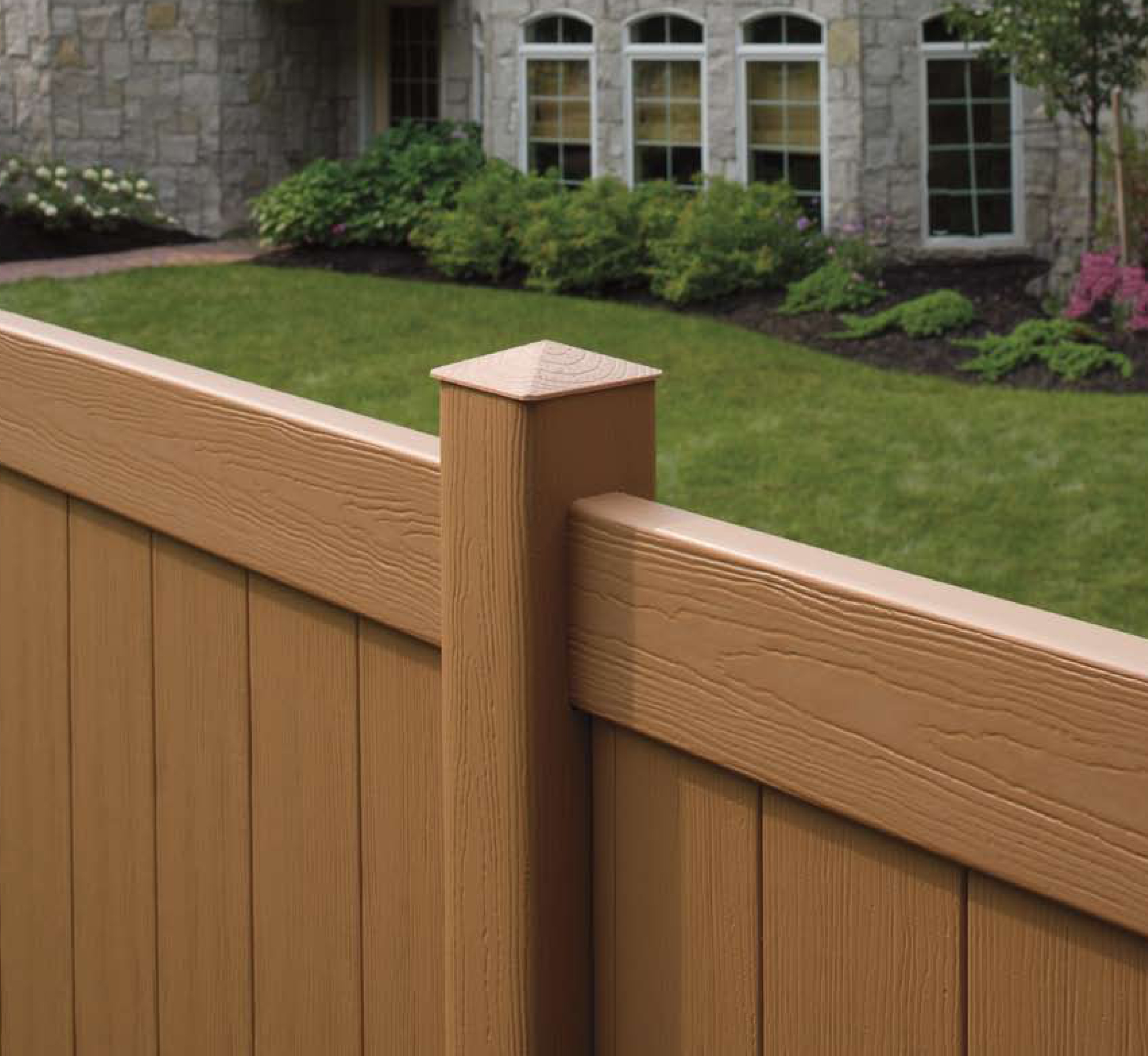 Millbrook vinyl fence by bufftech discount fence supply inc gallery baanklon Choice Image