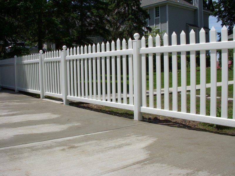 Bufftech Danbury Vinyl Fence Discount Fence Supply