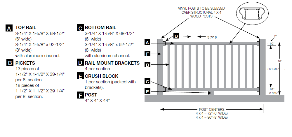 Deck handrails rail specifications pictures to pin on for Balcony dimensions