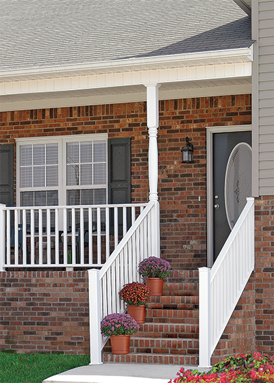 Charmant Bufftech Kingston Vinyl Steel Railing