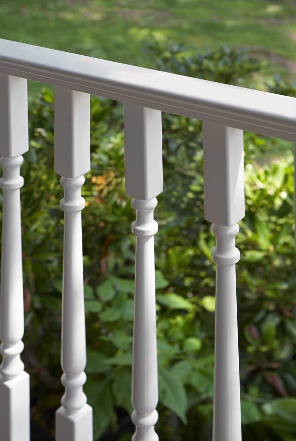 Bufftech kingston vinyl railing discount fence supply