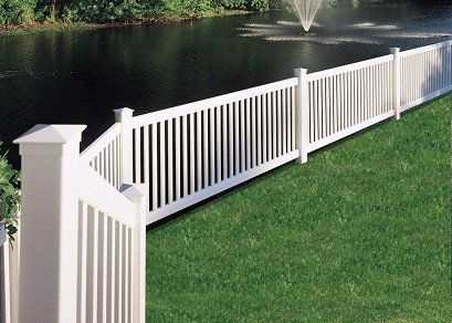 Princeton Vinyl Fence By Bufftech Discount Fence Supply