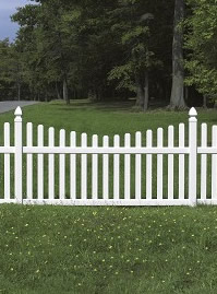 bufftech rothbury concave vinyl fence