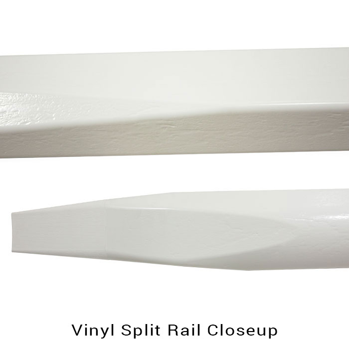 Maintenance Free Vinyl Split Rail Discount Fence Supply